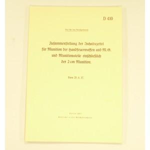 RECUEIL D'ETIQUETTES POUR CAISSE DE MUNITION ALLEMANDE