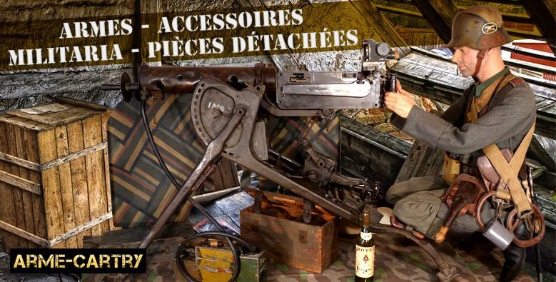 Armes - Militaria - Accessoires - Pièces détachées